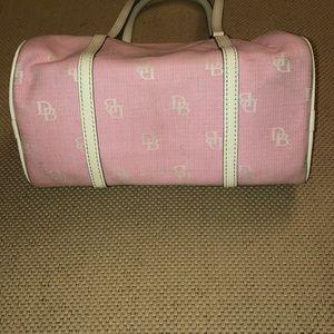 Dooney & Bourke Bags - Dooney and Bourke Baby Pink Barrel Bag